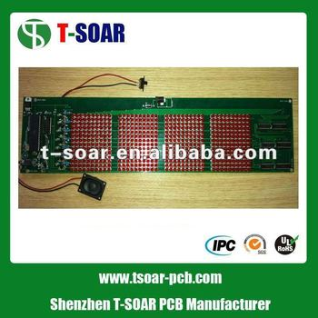 Display Screen With Long LED PCB Board