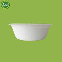 Disposable eco bagasse bowl