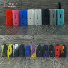 Dripbox 160 Kit Silicone case Kanger Dripbox 160w Starter kit with Notch Coil Cover 19colors in stock