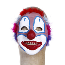 Fun Halloween party mask red clown nose of props mask