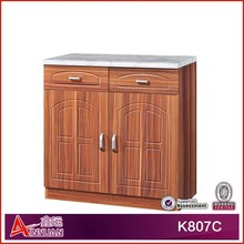 K807C Good quality knock down kitchen cabinets price
