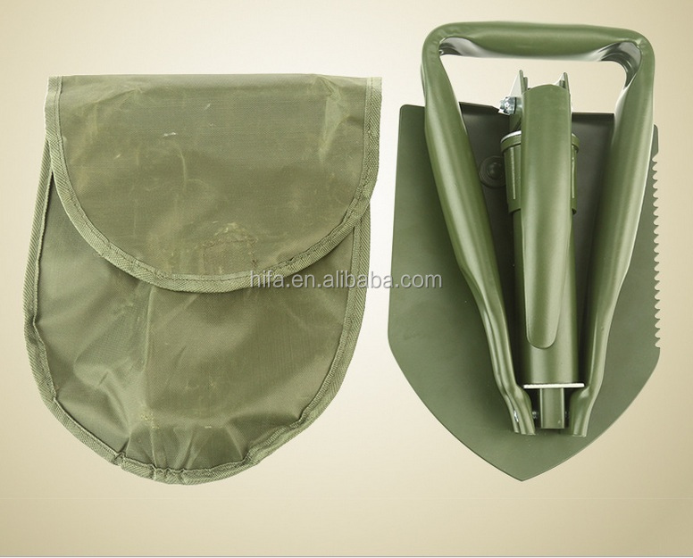 Portable Outdoor Survival Camping/Hiking/Fishing Multifunctional Folding Shovel Folding Spade Survival