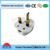 ABS material 3 pin plug adapter electrical charger adapter