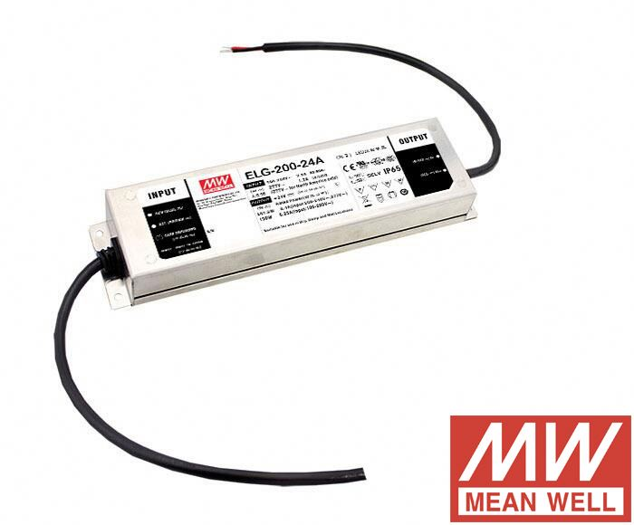 200W IP67 LED power supply 42v 4.76A constant current constant voltage led driver dali 3 in 1 dimming ELG-200-42