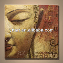 Hot sell handmade buddhas oil painting on canvas