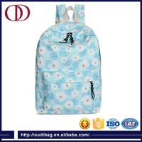 Customized printed school bag manufacturers in china