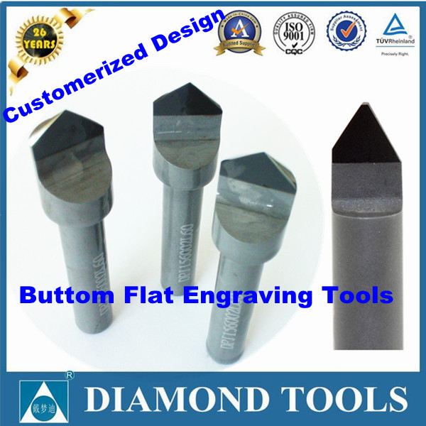 pcd engraving tools for marble granite stone pcd blank granite engraving tools