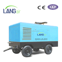 Portable Diesel Screw Air Compressor Used For Mining