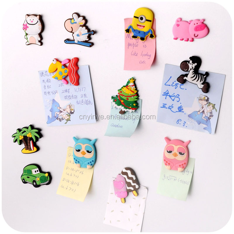 2017 New design fridge magnet souvenir 2D embossed refrigerator magnet
