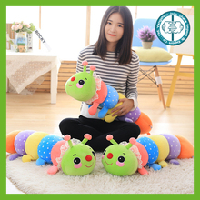 Best selling colorful down cotton caterpillar for gifts