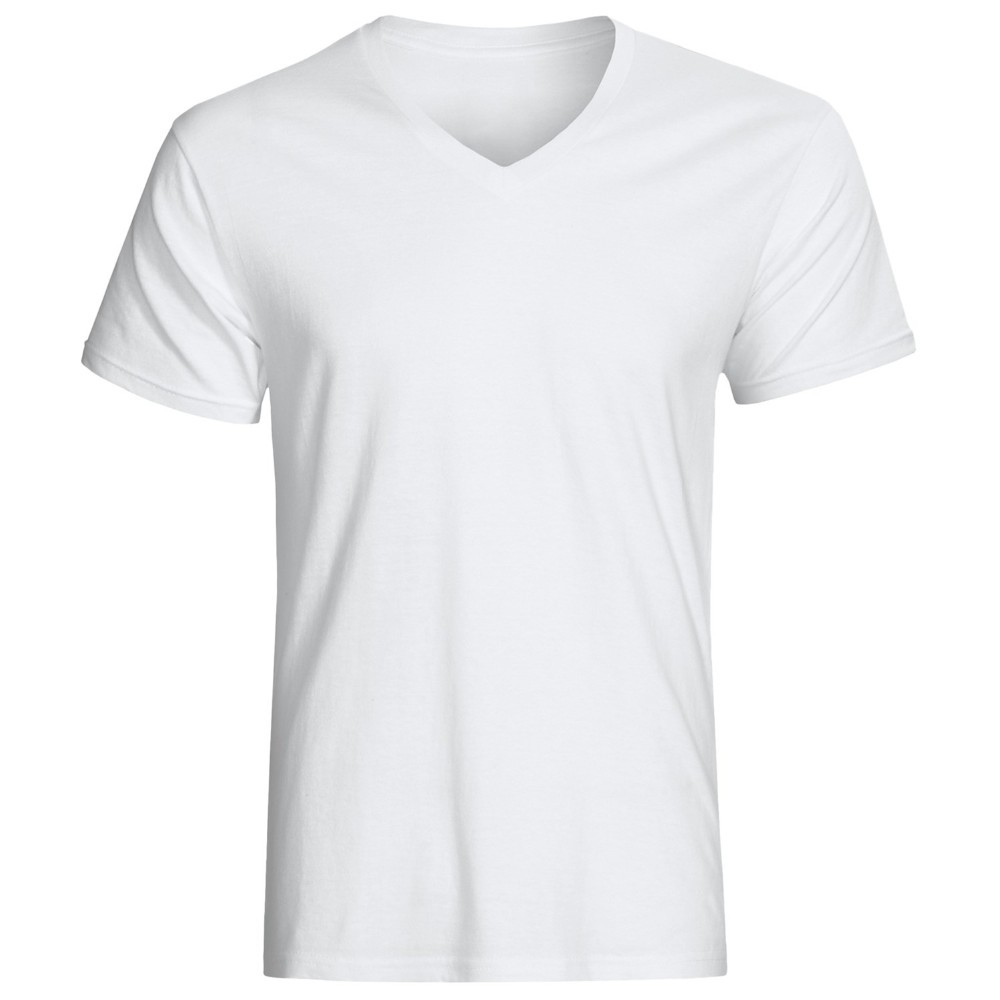 Cheap White V-neck T Shirts In Bulk Without Logo - Buy Cheap White ...