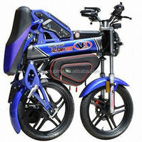 new design high quality Chinese 1500w foldable adult electric motorcycle with multifunction