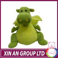 green super plush big size dinosaur cute toy
