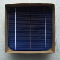 6x6inch high efficiency triple junction mono solar cell for mono solar panel munufacturing