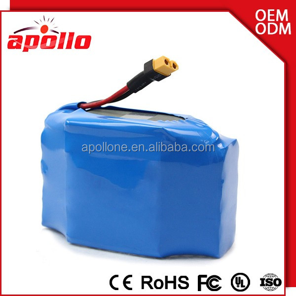 36V 4400mah scooter battery with cable ce battery