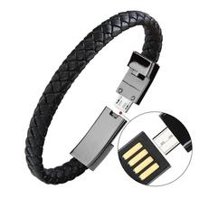 Factory Bracelet data Cable Charger Type <strong>C</strong> USB Cable Fast Charging Hand Ring Data Line