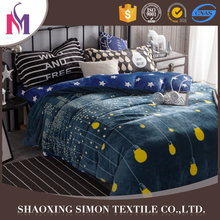 Factory Supplier Bright Color Bed Sheet Sets Print Duvet Bedding Set Manufacturer In China