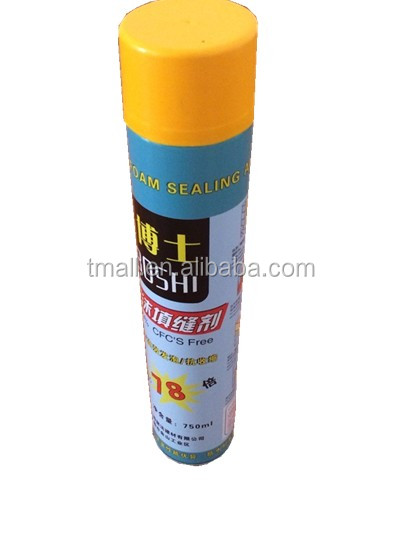 pu-foam caulking agent for advertising