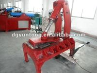 waste tire recycling machine/tire shredding machine with CE certification