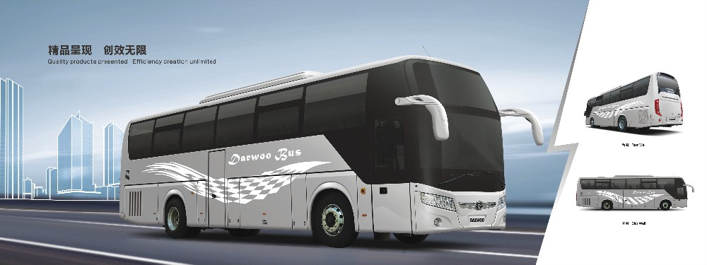 new luxury made in china bus GL6122HKD