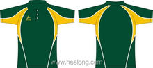 Healong Custom-Made Spandex Polo Shirt Cotton Elastane