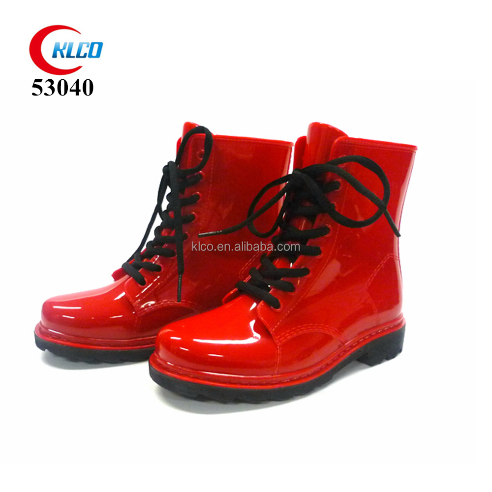 waterproof safety custom child cheap rubber pvc rain boot