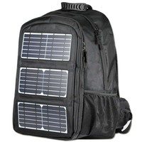 2017 High quality 10W flexible travel solar bag charged for laptop