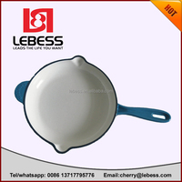 high quality enamel skillet/frying pan with big size