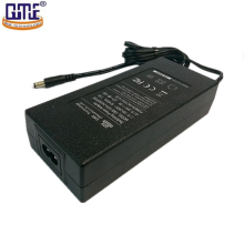 FCC RoHS listed 100-240v ac dc 20v 6a 24v 4a 5a desktop c8 power adapter