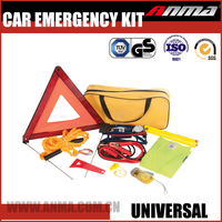 safety warning triangle kit/ roadside car emergency kit/popular car emergency kit