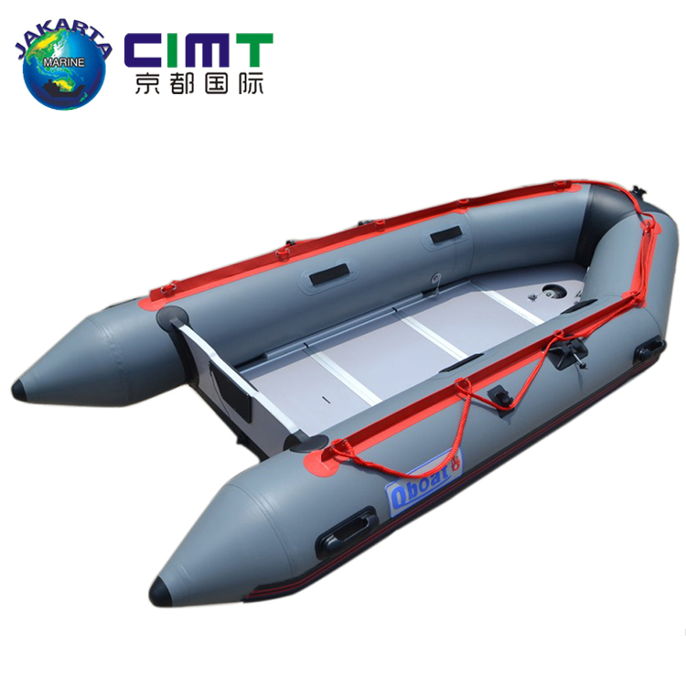 China Fishing Vessel rowing 300cm inflatable aluminum fishing <strong>boat</strong> board fishing <strong>boat</strong>