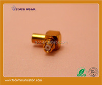 RG405 cable 90 degree right angle female jack rf coaxial SMP connector