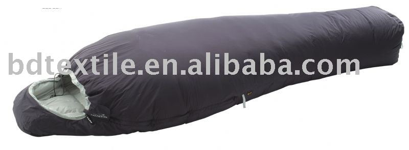 goose down sleeping bag