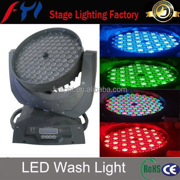 Night Club Lights 108*3w LED Wash Rotating Light