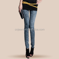 GZY Whlesale women culottes style leggings sex hot jeans leggings pictures of jeans