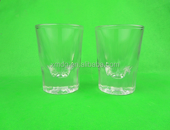 Customized high quality 4cl acrylic plastic glass tumbler
