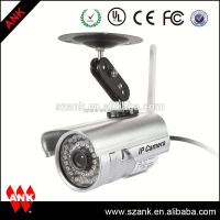 Outdoor p2p waterproof cctv camera outdoor camera cover for iphone ipad android app
