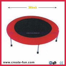 CreateFun 36inch mini folding popular Outdoor Fitness Exercise Equipment Trampoline bed