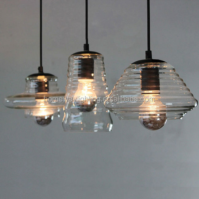 vintage bulbs antique clear glass ball pendant lamp/glass pendant light
