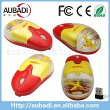 decorative water mouse Oil computer mouse with liquid inside float