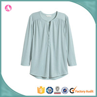 Ladies' Fancy Blouse Special Neck Design Casual Tops
