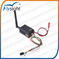 D111 Flysight 8-9km 2000mW 5.8G FPV Wireless Long Range Video Transmitters 32CH for FPV Kit Black Mamba TX5820 V2