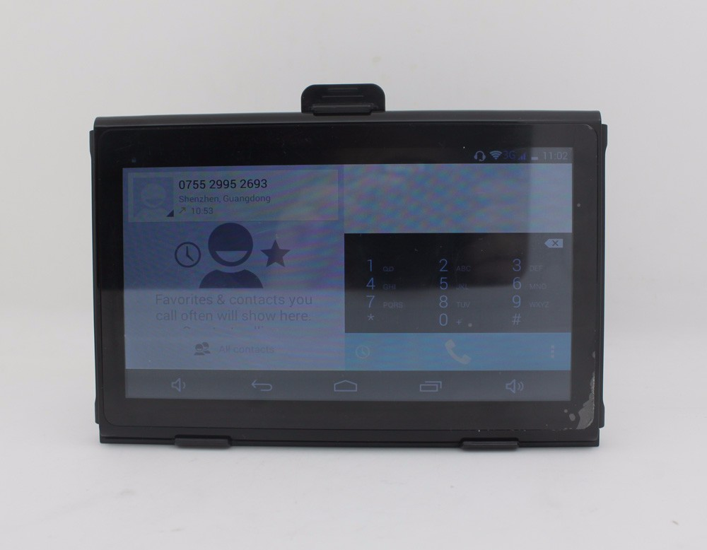 "3G WCDMA /GPS/GSM 7"" LCD Android tracking device/DVR with wifi FM AV-IN"