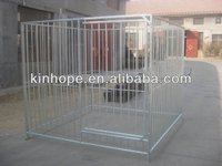 heavy duty hot dipped galvanized steel dog kennel