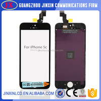 Wholesale full test for apple iphone 5c lcd screen digitizer assembly