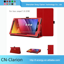 Tablet Covers High Quality Newest Promotional 7Inch Tablet Pc Leather Case For Asus zenpad C 7.0 Z170C