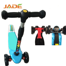 Kid toys scooter 3 wheel /2017 lightest folding kids kick scooter with aluminum alloy/baby kick scooter with PU wheels
