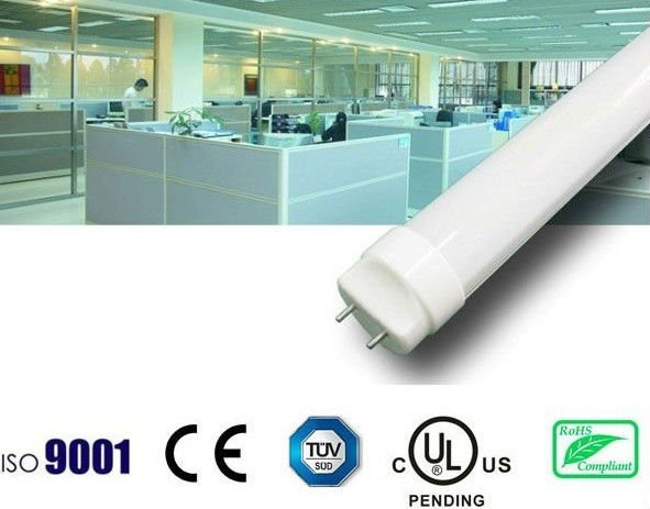 TUV/CE/RoHS approved led fluorescent tube 10W