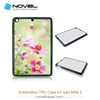 Diy 2d tpu phone case for iPad Mini2,sublimation blank cover