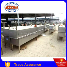 Metal Dairy Cattle Livestock Water Feeding Trough